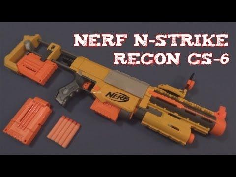 (Review) Nerf N-Strike Recon CS-6