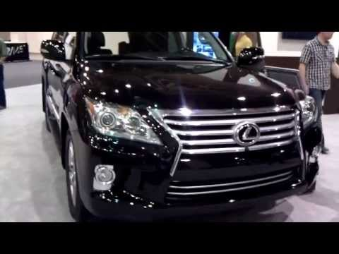 BIG BOY SUV's 2013 INFINITY QX vs 2013 LEXUS LX570