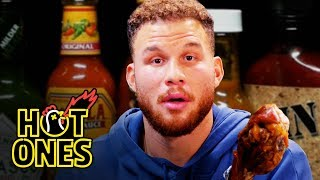 Blake Griffin Gets Full-Court Pressed By Spicy Wings | Hot Ones