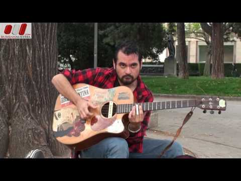 Barnard Somerset (Australia). Guitar. Vienna Street Performers by RussianAustria (Full HD)