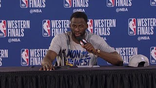 Draymond Green Postgame Interview - Game 4 | Warriors vs Blazers | 2019 NBA Playoffs