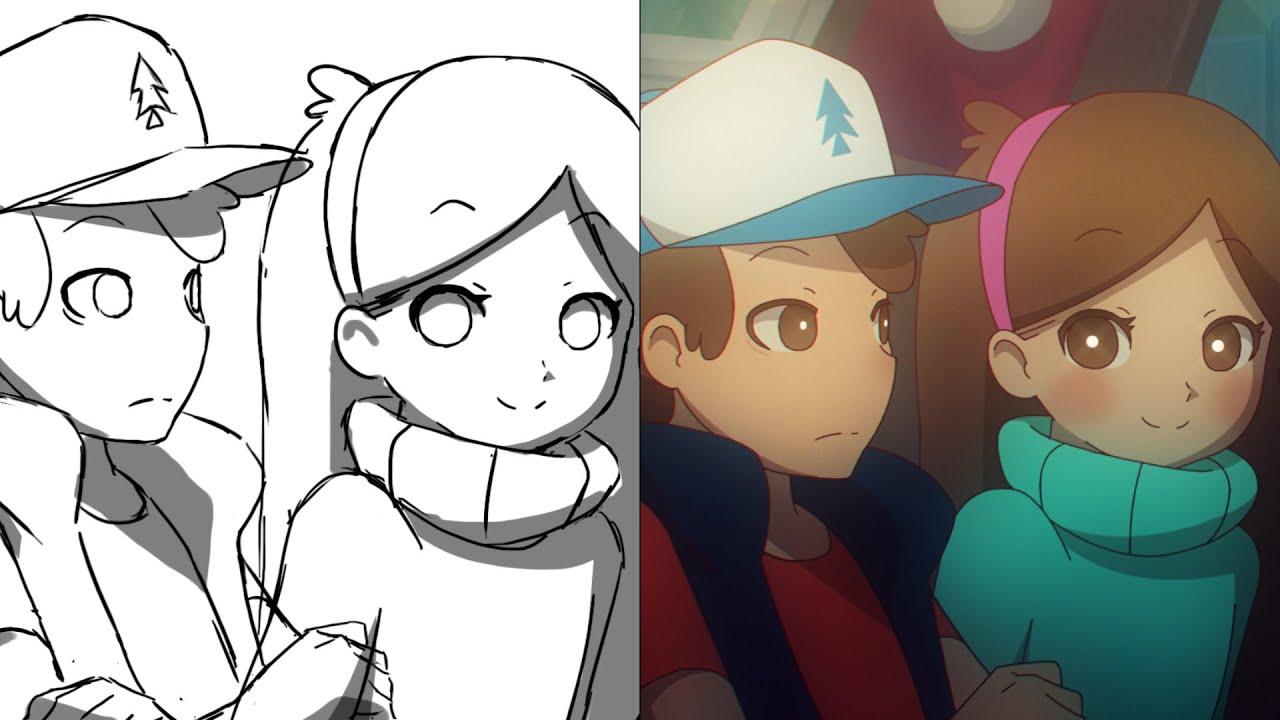 Animating Programs Anime Was an Anime Animation