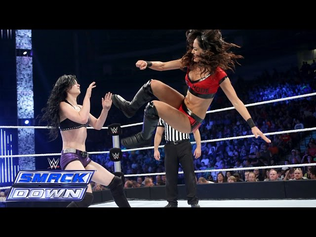 Brie Bella vs. Paige: SmackDown, Sept. 5, 2014