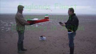 Maiden flight of Multiplex Twinstar 2