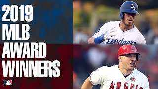 Cody Bellinger, Mike Trout win NL + AL MVP to round out MLB awards season