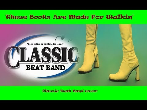 Classic Beat Band - These Boots Are Made For Walkin' (recorded by phone, live, cover 2019-06-01)