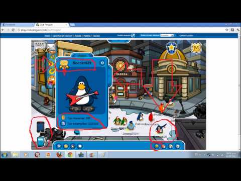 club penguin-socio gratis julio 2012