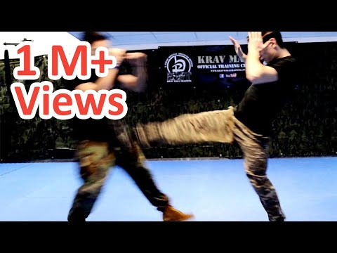 KRAV MAGA TRAINING • How to use Front Kicks in a real fight Image 1