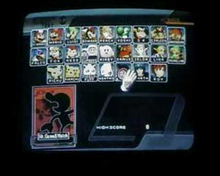 Super Smash Bros Melee Unlocking Mr Game And Watch YouTube