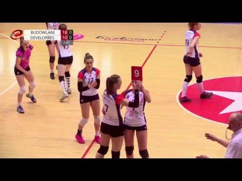 Budowlani Łódź – Developres Rzeszów (turniej ćwierćfinałowy MP Juniorek W Siatkówce)