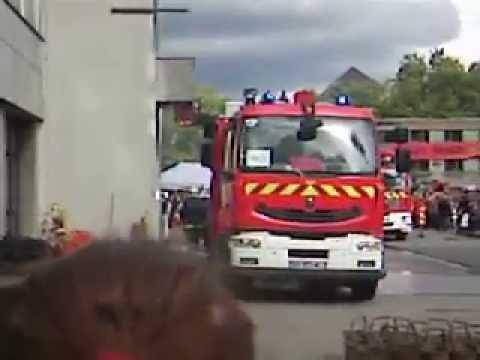 porte ouverte des sapeurs pompiers de mulhouse 26 09 2010 part 1