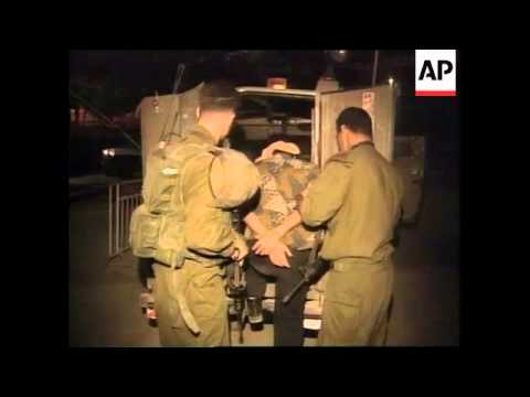 WEST BANK: HEBRON: ISRAELI SOLDIERS ARREST 20 PALESTINIANS