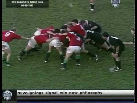 New Zealand vs British & Irish Lions 1993 2nd Test | British and Irish Lions Highlights - New Zealan