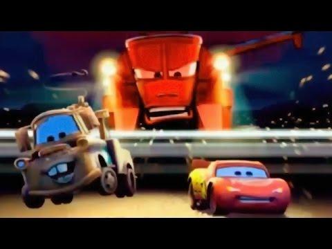 Мультики про Машинки. ТАЧКИ Молния МАКВИН: Пугливые Тракотора продолжение.McQueen #Мультик игра 2016