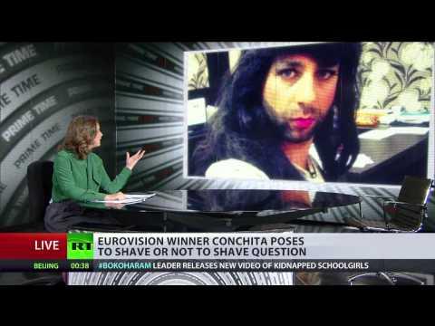Conchita Wurst 'lookalikes' make Russian Internet explode