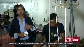 CCTV - Ethiopia Entrepreneurship:  Abai Schulze And Her High-end Leather