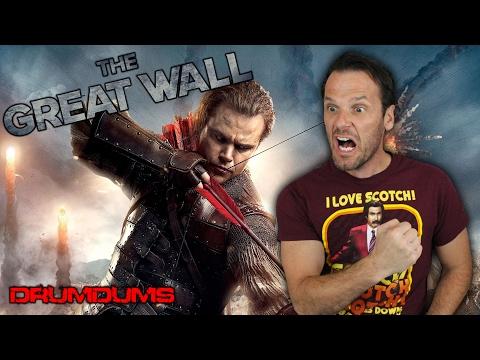 Drumdums Reviews THE GREAT WALL (Matt Damon!)