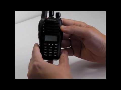 Baofeng UVB5 VHF/UHF radio repeater programming
