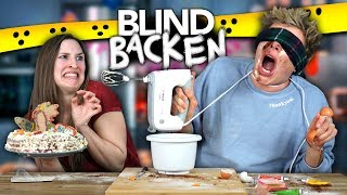 BLIND BACKEN CHALLENGE - FAIL | Joey's Jungle