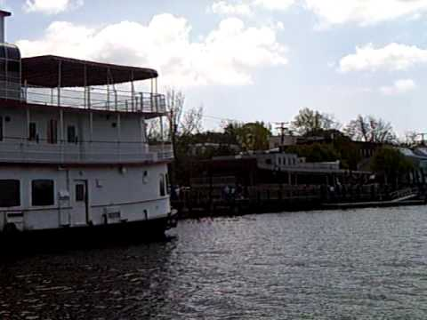 Cape Fear River motor boat tour EASTER 2009