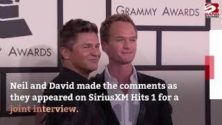 Neil Patrick Harris and David Burtka had sex on a train