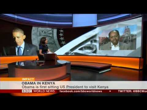 BBC World News 2015 07 24 ken kamoche speaks on Obama Africa visit
