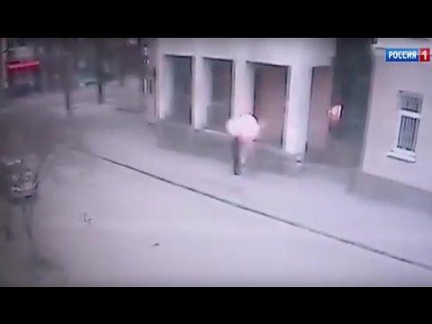 Взрыв и закладка взрывного устройства в Ростове попали на камеру
