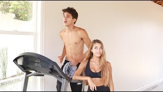 I Put Brent Through My Workout Routine!