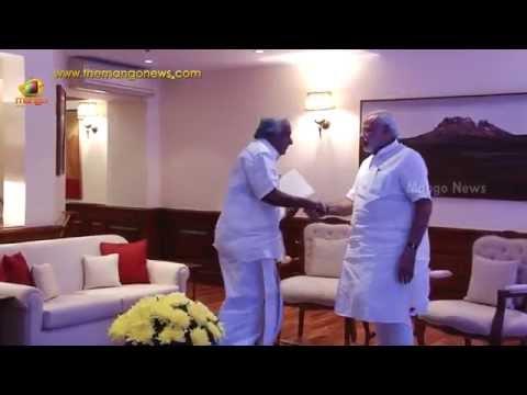Kerala CM Oommen Chandy meets PM Narendra Modi