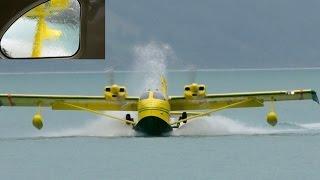 Amphibious Flying Boat STOL UC-1 Twin Bee * Flight from Interlaken!