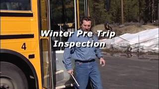 Winter Driving Safety for School Bus Drivers