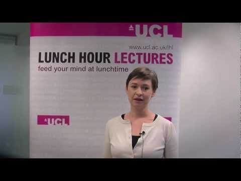 UCL Lunch Hour Lectures on tour 2012 trailer
