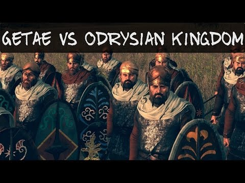 Total War Rome 2 Online Battle 65 Getae vs Odrysian Kingdom