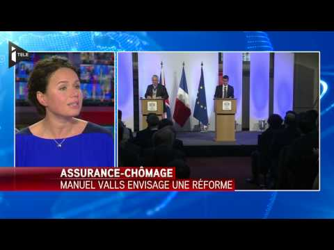 Chômage : Valls veut réduire l'indemnisation des chômeurs