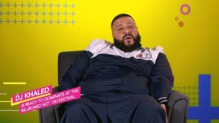 DJ Khaled Teases Billboard Hot 100 Festival Performance