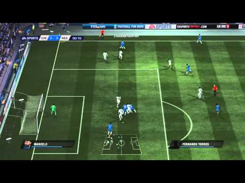 Fifa 11: Chelsea vs Real Madrid - Drogba Hat Trick