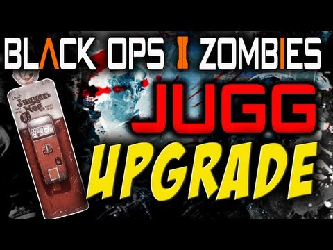 Black Ops 2 Zombies: PERSISTENT JUGGERNOG PERK UPGRADE! [Tranzit Easter Egg]