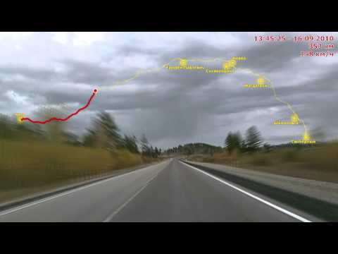 Road Video Expedition «Moscow - Vladivostok» Day 15 part 1/2
