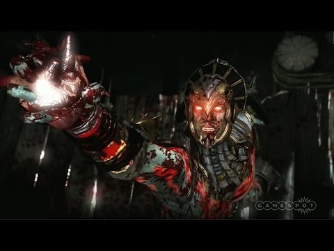 Mortal Kombat X Stage Demo - E3 2014
