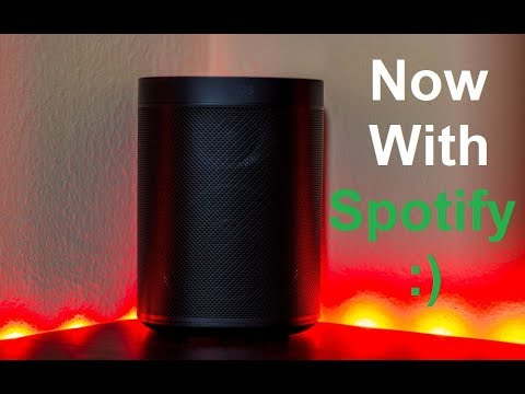 SONOS One Now With Spotify!
