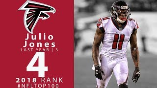 4: Julio Jones WR, Falcons | Top 100 Players of 2018 | NFL