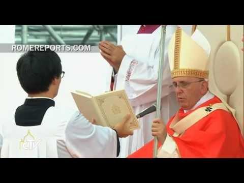 El Papa Francisco beatifica a 124 mártires de Corea