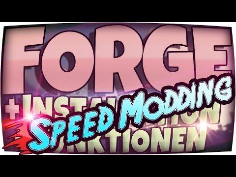 ★ SPEED MODDING ★ MINECRAFT FORGE Installieren in 62 SEKUNDEN!!! - Mods Download Deutsch German