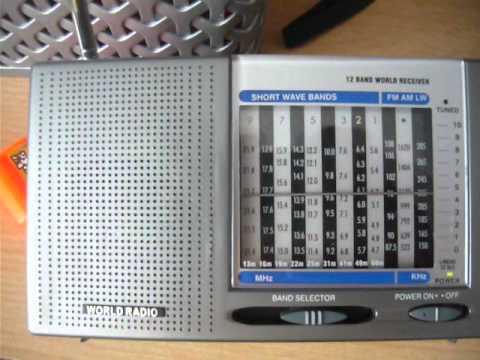 Radio DARC - Rohrbach Wall Germany  RX World Radio (Tesco) vs Degen DE1103