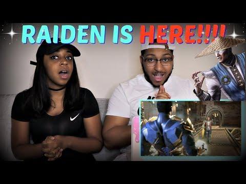 Injustice 2 - Introducing Raiden! REACTION!!!!