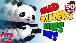 Head Shoulders Knees and Toes 2   +More Nursery Rhymes & Kids Songs - CoCoMelon