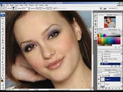 Photoshop - Gossip Girl - Leighton Meester [digital beauty]