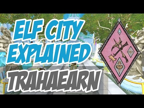 ► Elf City Explained! – Clan Trahaearn (Mining/Smithing) [Runescape 2014]