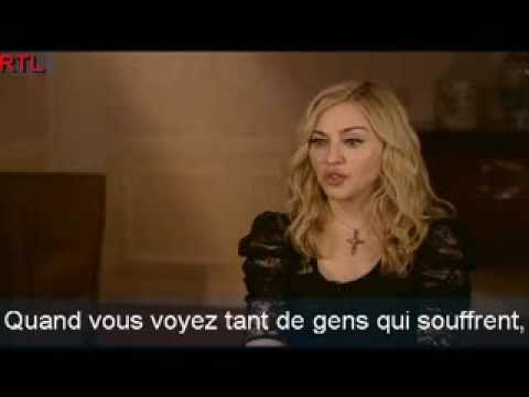 "HQ Madonna - Interview - ""I am because we are"" - March 2009 - France"