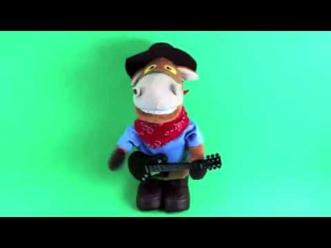 Конь Ковбой с гитарой